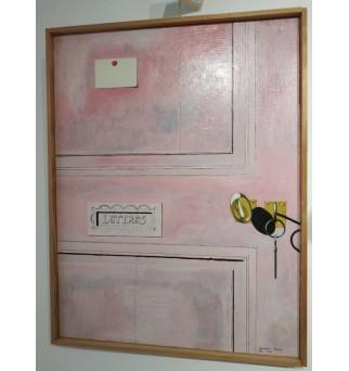 La clé sur la porte -...