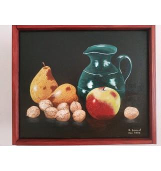 Automne, poires, pomme,...