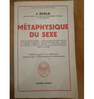 Métaphysique du sexe -...