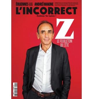 L'Incorrect no44 - Zemmour...