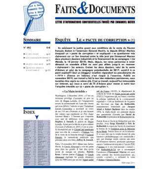 Faits & Documents no492 -...