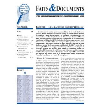 Faits & Documents no493 -...