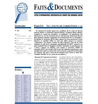 Faits & Documents no495 -...